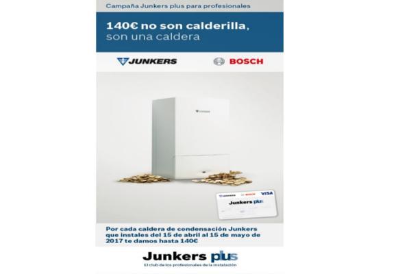 el club junkers plus lanza dos campaas dirigidas a los instaladores