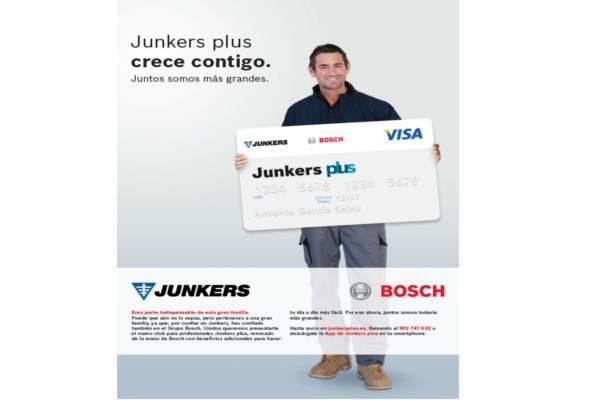 junkers plus crece con los instaladores