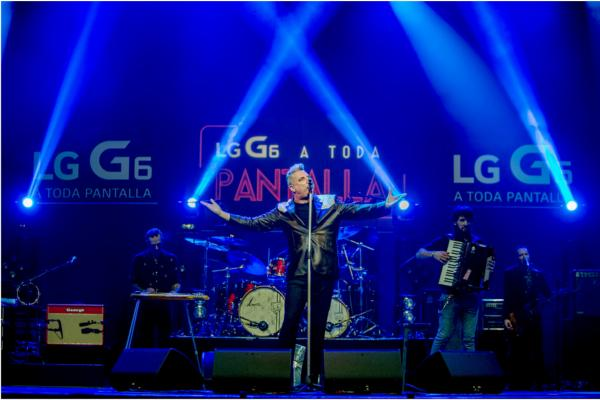 el smartphone lg g6 abre el teatro real a loquillo