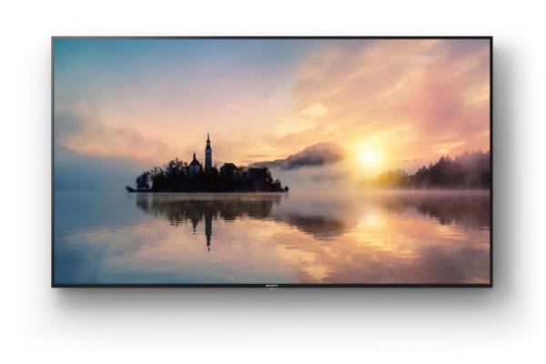 sony ampla su gama de televisores 4k hdr con la serie xe70
