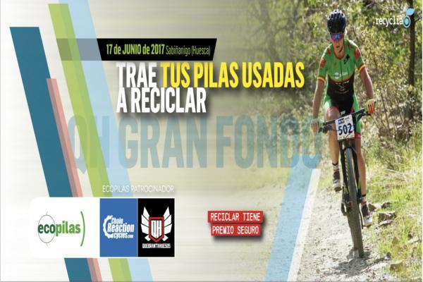 ecopilas y la quebrantahuesos promovern el reciclaje de pilas entre los aficionados al ciclismo