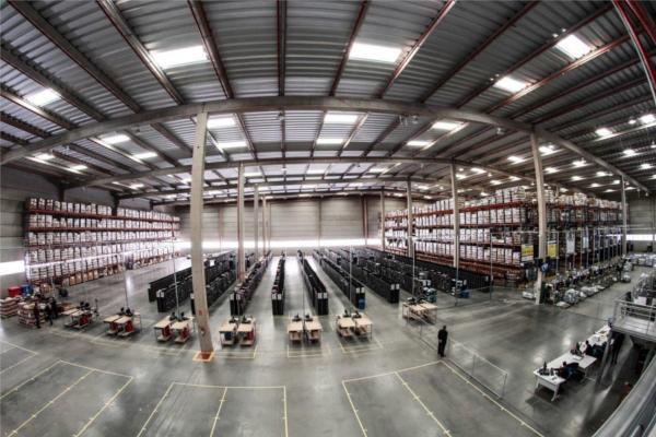 mediamarkt traslada su actividad logstica a su nueva plataforma de pinto