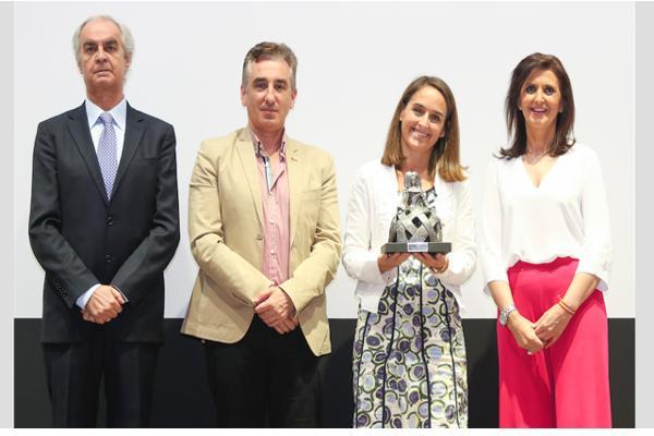 miele premiada en la gala de fundal por su colaboracin a la alimentacin saludable