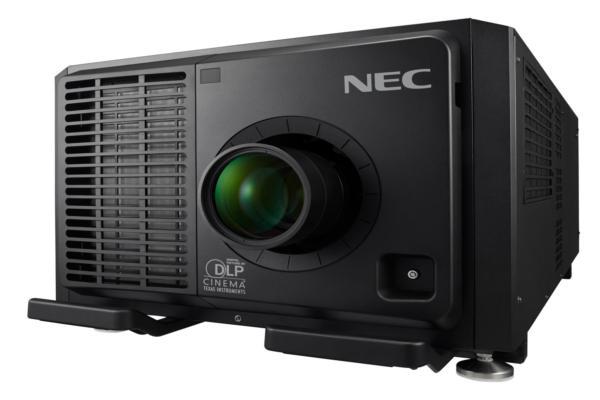 el proyector de nec display solutions ofrece 4k y tecnologa lser rb
