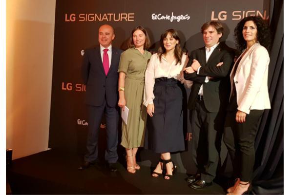 lg signature la marca ultrapremium llega a espaa con tamara falc como embajadora