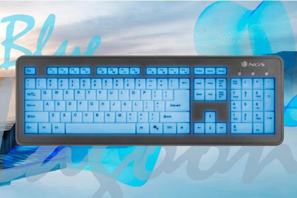bluelagoon el teclado auto iluminado de ngs