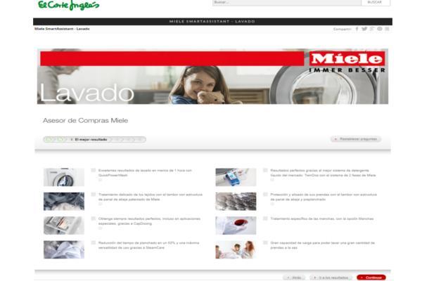 miele lanza su espacio de marca para comprar en la web de el corte ingls