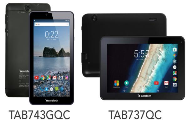 sunstech renueva sus tablets de 7 con los modelos tab743gqc y tab737qc