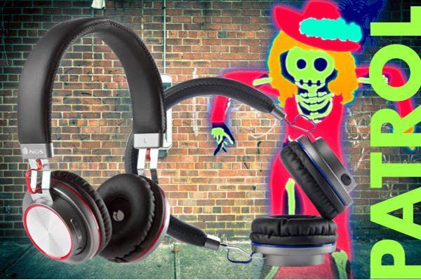 ngs artica patrol la nueva coleccin de auriculares inalmbricos con bluetooth de ngs