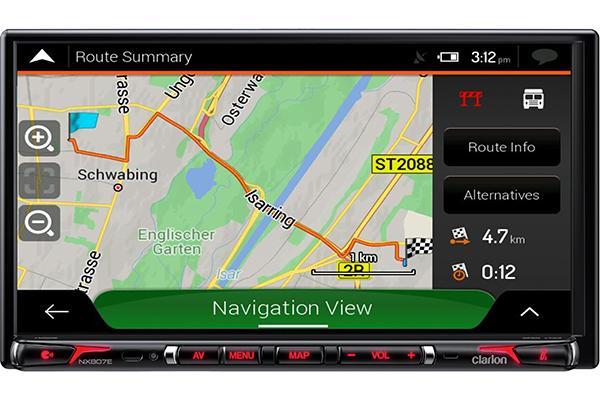 nueva estacin multimedia para caravanas de clarion