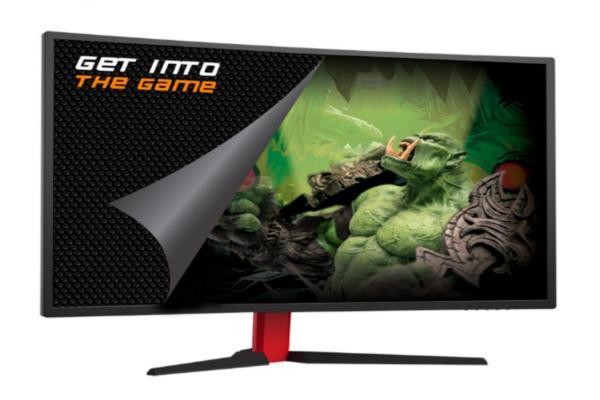 aldir presenta un monitor curvo para los gamers ms exigentes
