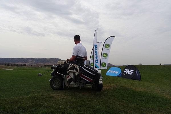 daikin colabora en el campeonato abierto de madrid de golf adaptado