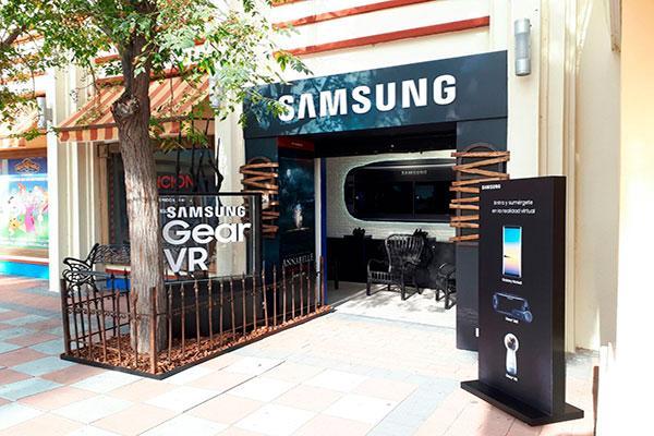 samsung abre un espacio propio permanente en parque warner