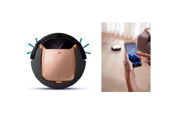 smartpro activ un robot aspirador controlable desde el smartphone