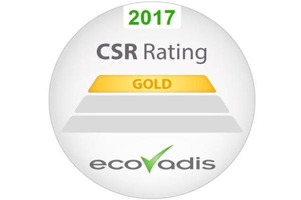 epson galardonada con el reconocimiento ecovadis gold en sostenibilidad