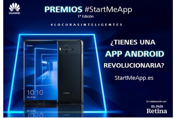 huawei mobile espaa lanza la primera edicin de los premios startmeapp