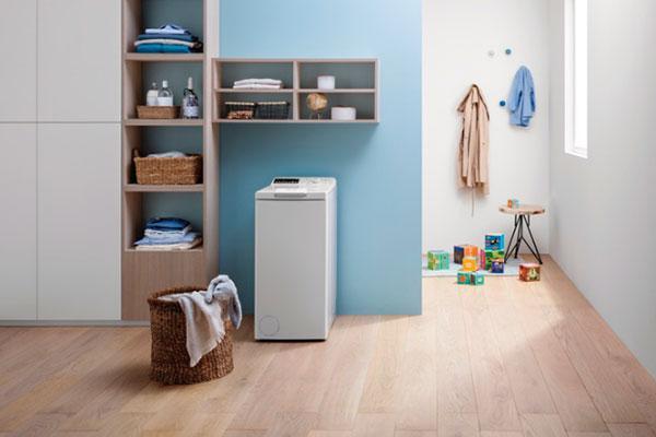 indesit lanza una gama de lavadoras de carga superior y ms intuitiva