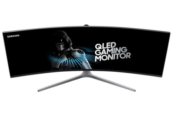 el monitor panormico y curvo de samsung se adelanta al futuro