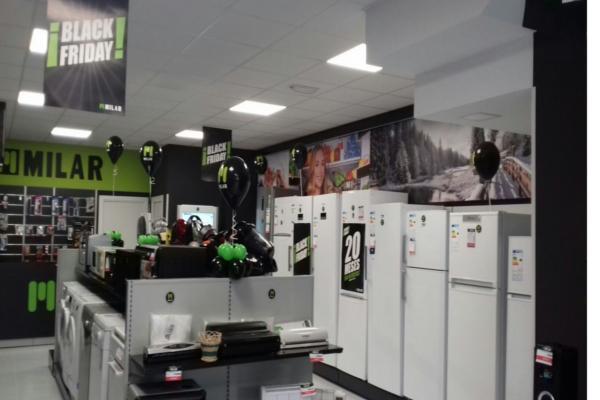 villalba inaugura una nueva tienda de electrodomsticos milar