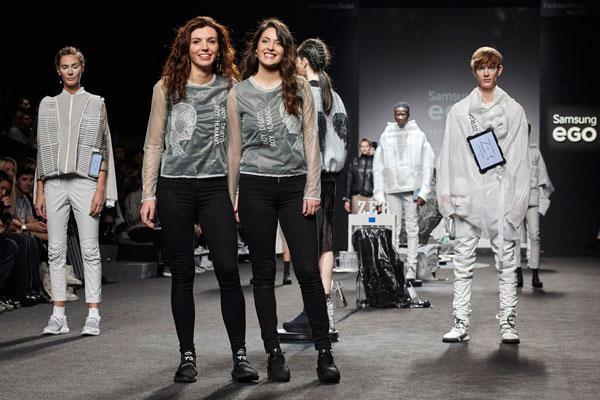 zer abre la ltima jornada de desfiles como firma ganadora de samsung ego innovation project