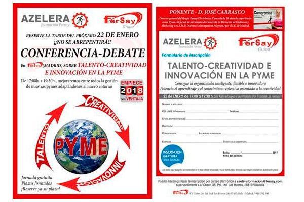 talento creatividad e innovacin nuevo curso gratuito de formacin fersaynbsp para pymes y emprendedores
