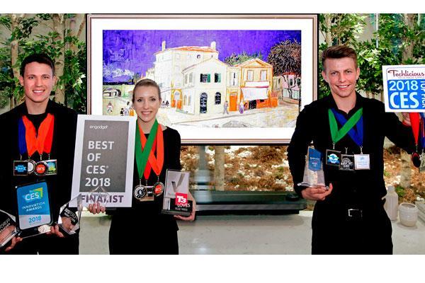 lg oled ia tv premio ces 2018 al mejor producto de televisin