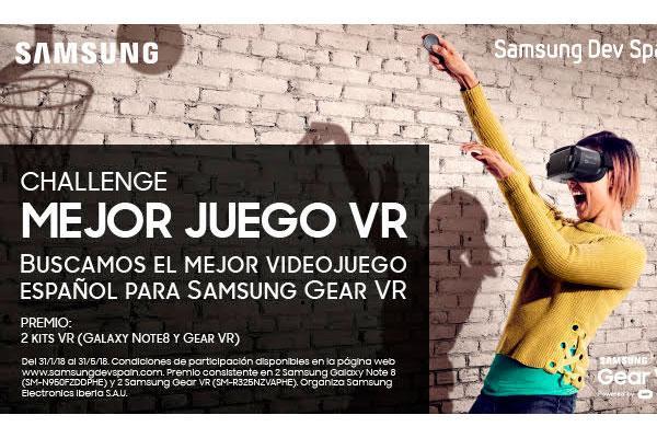 samsung premia el mejor videojuego para samsung gear vr desarrollado en espaa