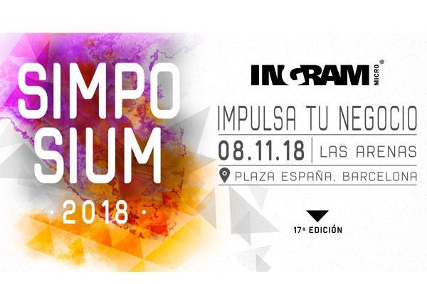 el simposium 2018 de ingram micro se celebrar el prximo 8 de noviembre