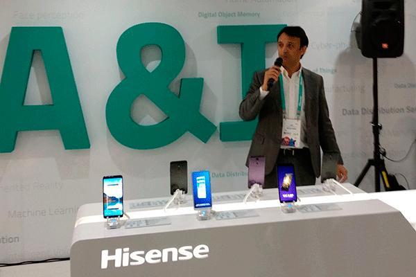 el smartphone h11 la gran novedad de hisense en el world congress de barcelona 2018