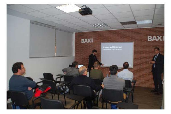 baxi celebra una jornada de puertas abiertas para instaladores en su nueva sede