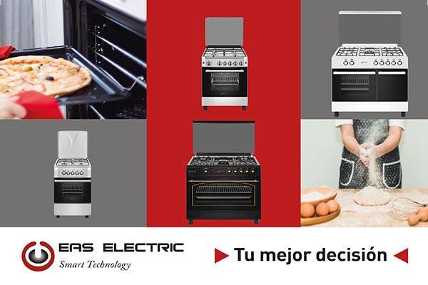eas electric lanza una gama de cocinas pensadas para el ahorro econmico