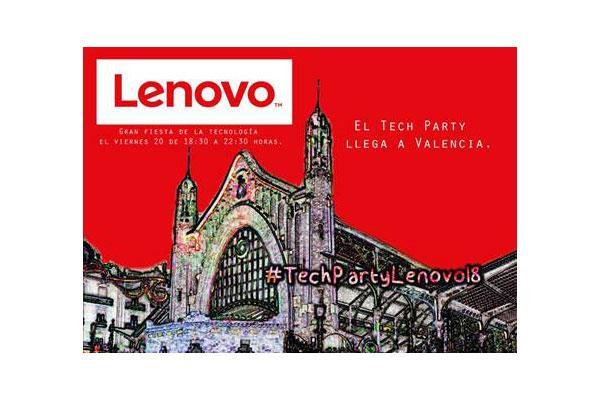 lenovo celebra hoy la gran fiesta de la tecnologa en valencia