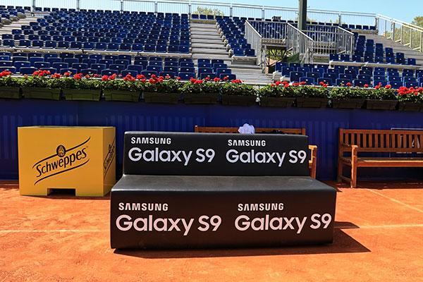 samsung apoya el mundo del tenis participando en el trofeo god