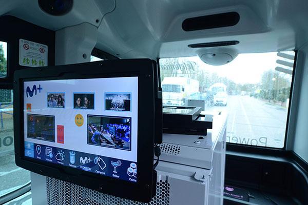 telefnica presenta su primer caso de uso 5g con conduccin autnoma y consumo de contenidos