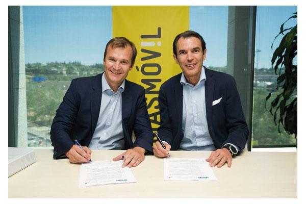 masmvil firma un acuerdo con ericsson para la ampliacin de su red mvil