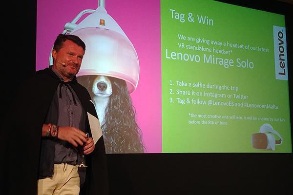 lenovo destaca en malta a sus clientes que ser una empresa creble es parte de su adn