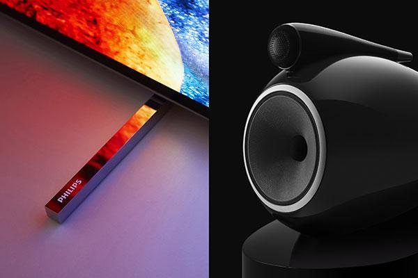 philips tv y bowers amp wilkins se alan en busca la excelencia en la calidad de imagen y el sonido