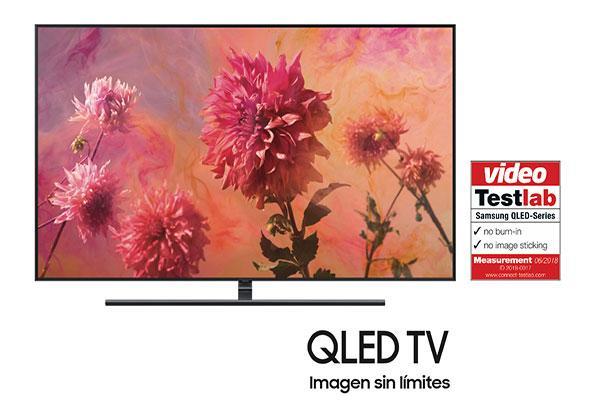 samsung obtiene la certificacin libre de efecto burnin para sus televisores qled tv