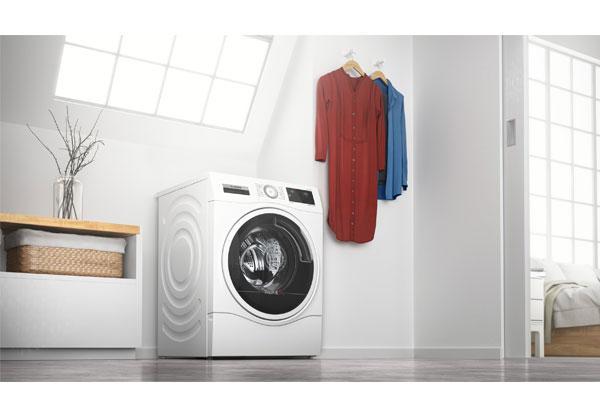la nueva lavadora bosch con funcin secado lava hasta 10 kg de ropa