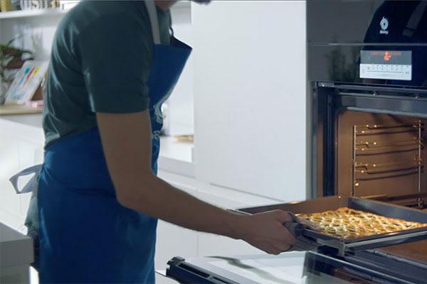 los nuevos hornos serie cristal de balay triunfan en televisin