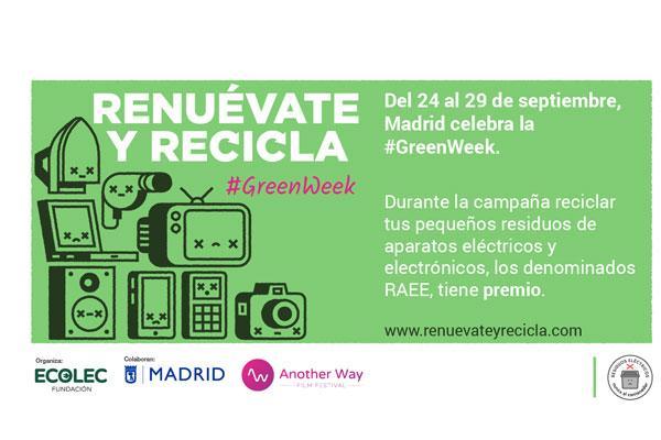 ecolec celebra una nueva edicin de la greenweek en madrid