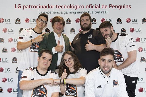 lg se une al club penguins para impulsar el futuro de los esports