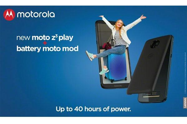 ya disponible en espaa el pack moto z3 play power edition la ltima incorporacin de la familia moto z