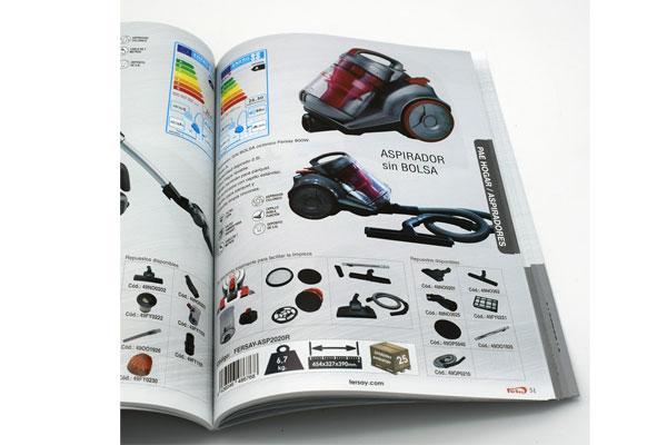 fersay presenta su catlogo actualizado en papel con mas de 50 novedades en productos con marca propia