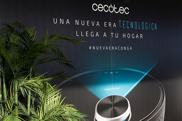 cecotec revoluciona el mercado espaol con la nueva gama de aspiracin automtica inteligente conga