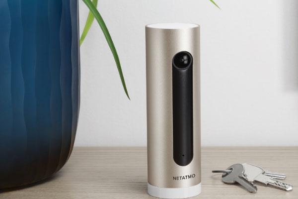 la cmara interior inteligente de netatmo ya compatible con homekit de apple