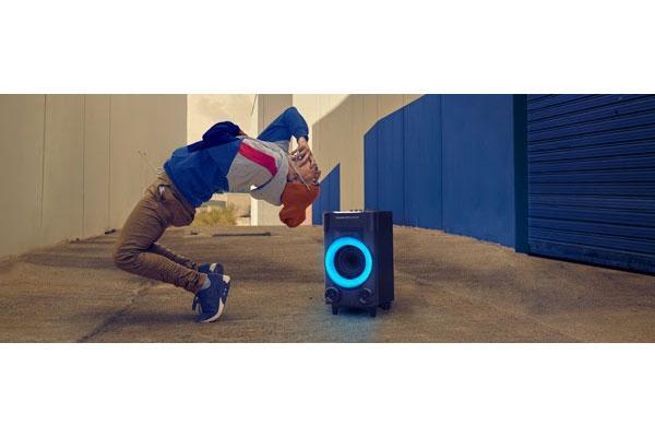 energy party 3 go luces potencia y sonido en formato porttil para animar con msica cualquier celebracin