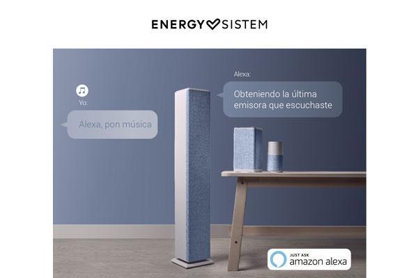 energy sistem lanza tres altavoces con alexa integrada