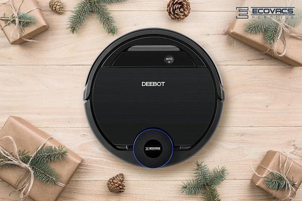 la gama ozmo de ecovacs se encargar de dejar el hogar en perfectas condiciones estas navidades