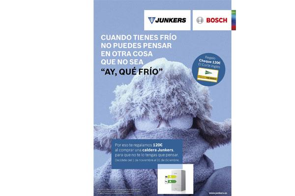 junkers regala 120 euros por la compra de una caldera de condensacin
